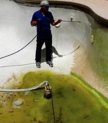 Acid Wash Pool Service